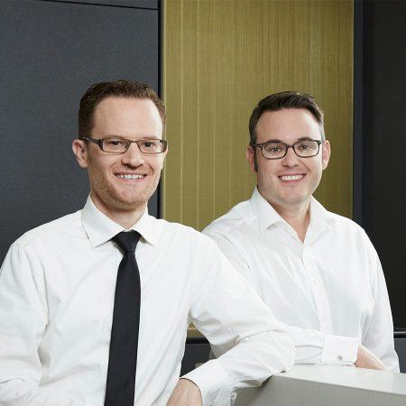 Dr. Klaus Nobis und Dr. Nikolas Ganß